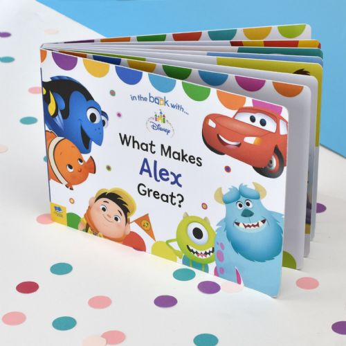 Personalised Disney What Makes me Great Board Book